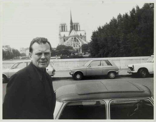 Czesław Miłosz Paryż 1979 Zdjęcie